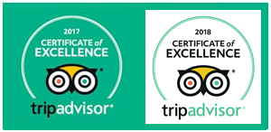 Wine Trail Trip Advisor 2018 Excellence